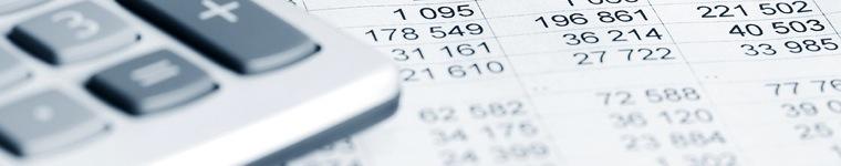 Obrazek slidera - kalkulator na dokumentach